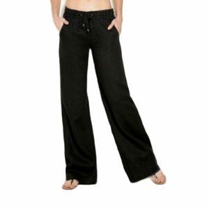 NWT Guess 100% Linen Wide Leg Pants